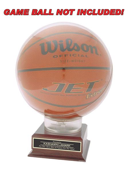 description - Basketball Display Case