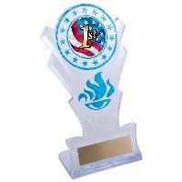trophy-star torch stand-swimming