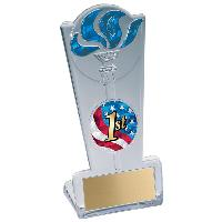 trophy-torch stand-swimming