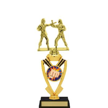 trophy-all star mylar riser-martial arts