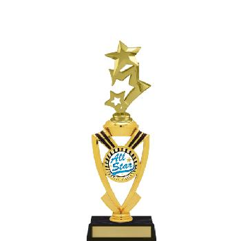 trophy-all star mylar riser-star theme