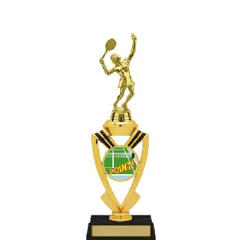 trophy-all star mylar riser-tennis