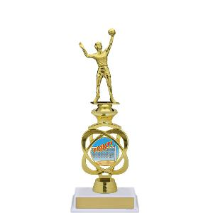 trophy-electron riser series-volleyball