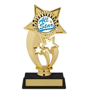 trophy-gold under star-star theme