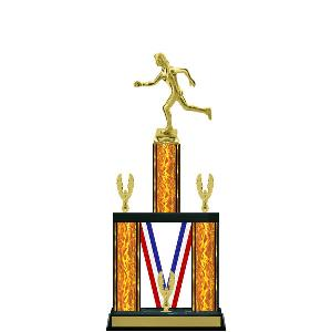trophy-majestic ribbon series-track and field