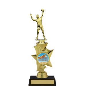 trophy-rising star series II-volleyball