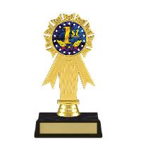 trophy-rosette ribbon