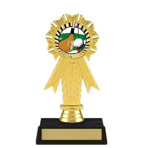 trophy-rosette ribbon-golf