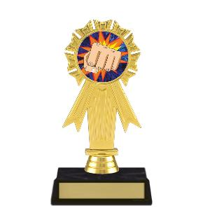 trophy-rosette ribbon-martial arts