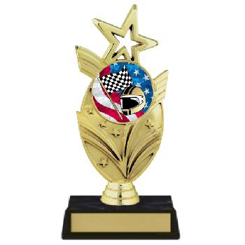 trophy-star mylar series-motor sports