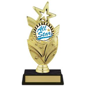 trophy-star mylar series-star theme