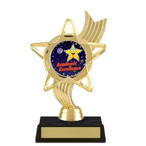 trophy-star ribbon-academic
