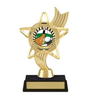trophy-star ribbon-golf