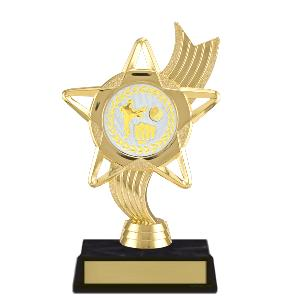 trophy-star ribbon-martial arts