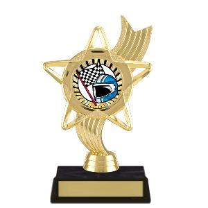 trophy-star ribbon-motor sports