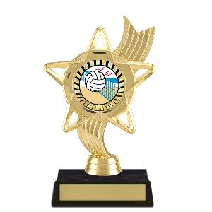 trophy-star ribbon-volleyball