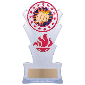 trophy-star torch stand-martial arts karate