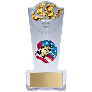 trophy-torch stand-wrestling