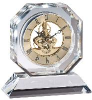 clock-elegant crystal-octagon