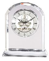 clock-elegant crystal-beveled tower