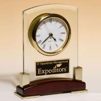 clock-beveled glass clock