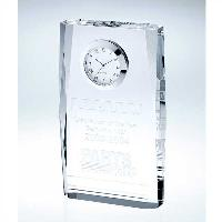 clock-beveled plaque
