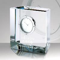 clock-crystal slanted block