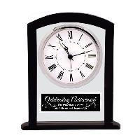 clock-clear black square arch