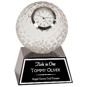clock-golf crystal