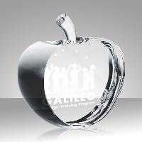 glass-apple slice