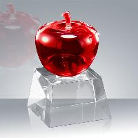 glass-crystal apple