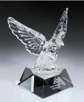 glass-crystal eagle