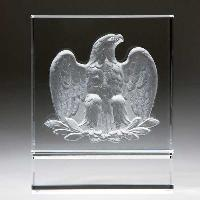 glass-majestic eagle