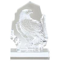 glass-sculpted eagle-eagle theme