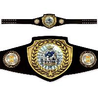 custom fantasy champion belt