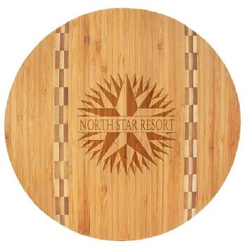 gift-circle bamboo cutting board with butcher inay