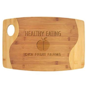 gift-bamboo cutting board with inlay