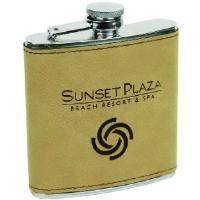 gift-laserable leatherette-flask