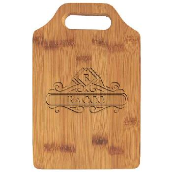 gift-bamboo cutting board with handle
