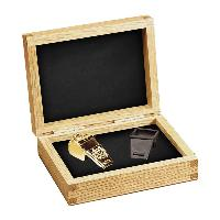 whistle-solid oak case