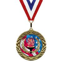 medal-flag mylar series-victory