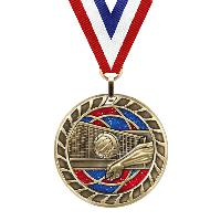 medal-glitter series-volleyball