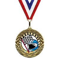 medal-sunburst mylar series-racing