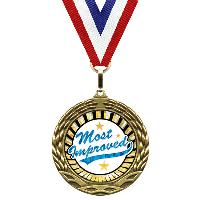 medal-sunburst mylar series-most improved