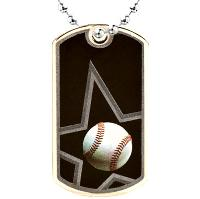 medal-dog tag-baseball