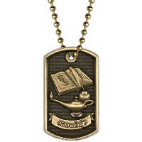 medal-3D dog tag-knowledge