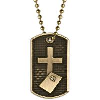 medal-3D dog tag-religion
