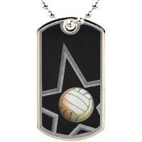 medal-dog tag-volleyball