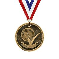 medal-3d medal series-perfect attendance