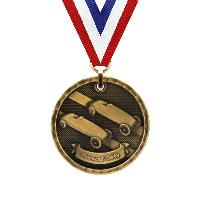 medal-3d medal series-pinewood derby